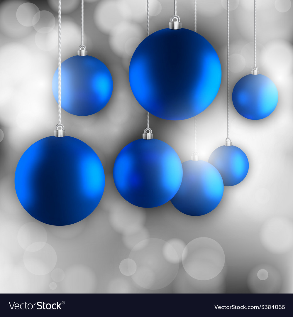 Blue balls vector | Price: 1 Credit (USD $1)