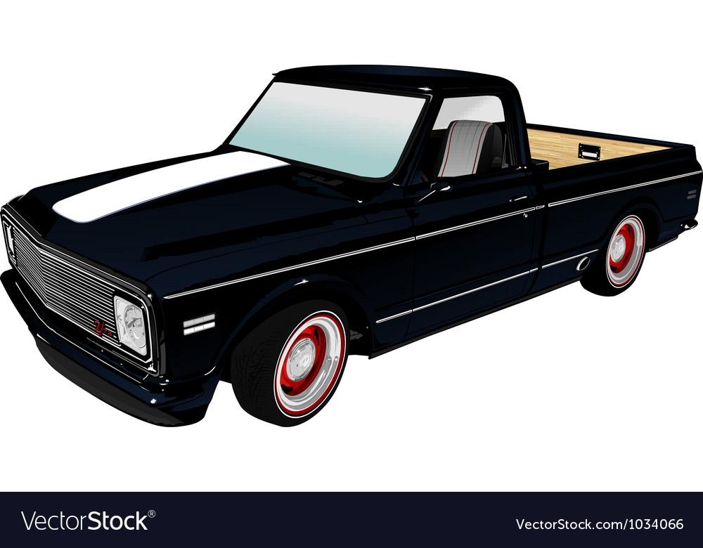 Pickup vector | Price: 1 Credit (USD $1)