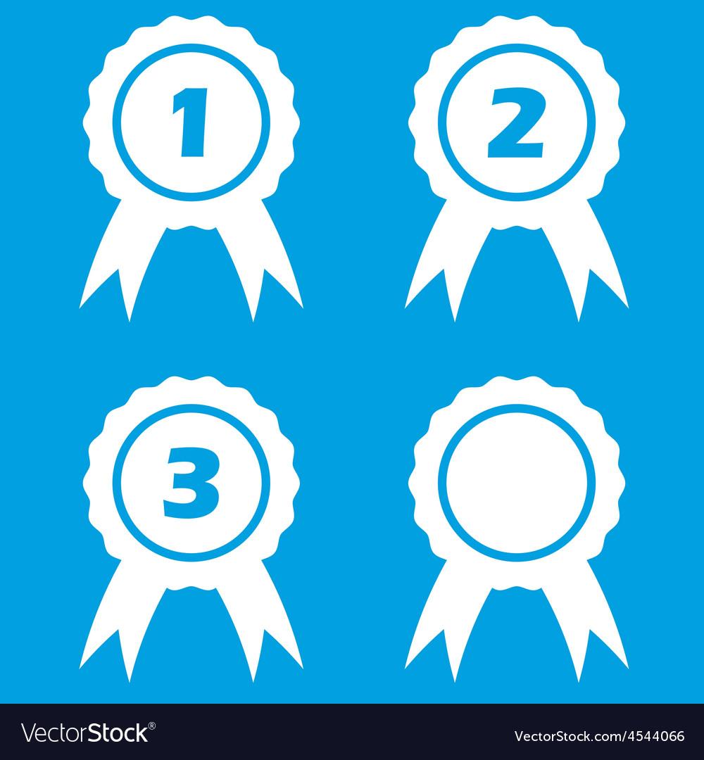 Prize icon set vector | Price: 1 Credit (USD $1)
