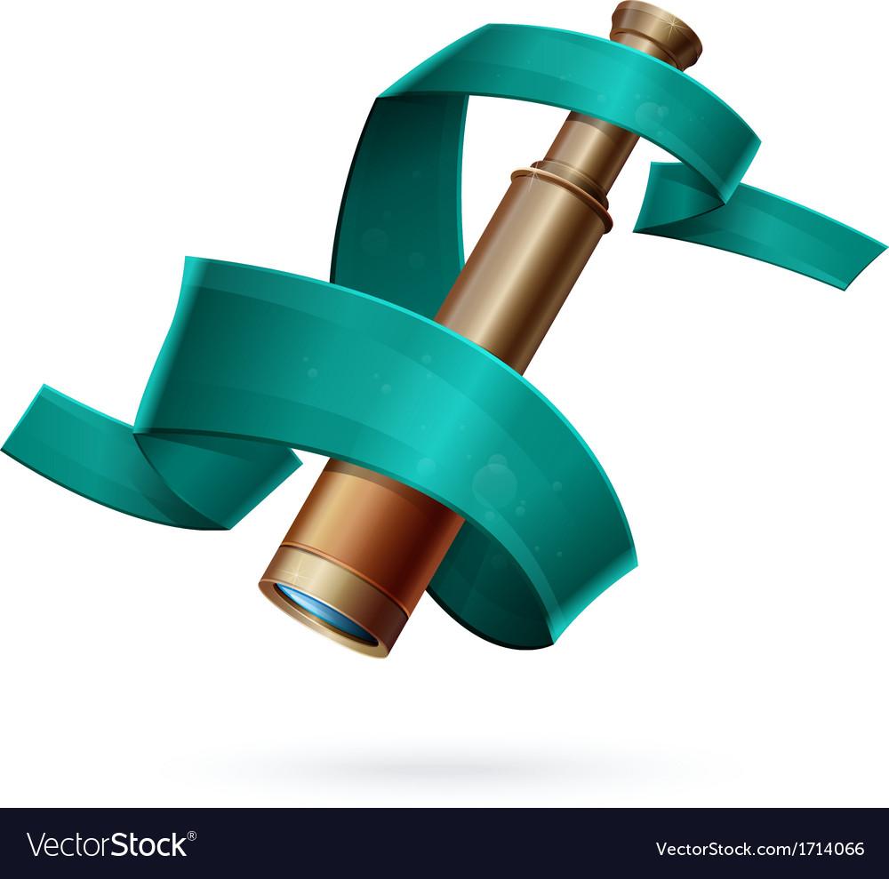 Spyglass vector | Price: 1 Credit (USD $1)