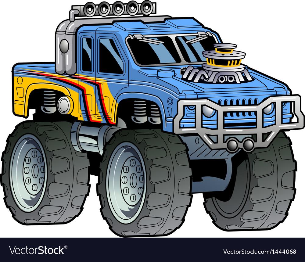 Monster truck vector | Price: 3 Credit (USD $3)