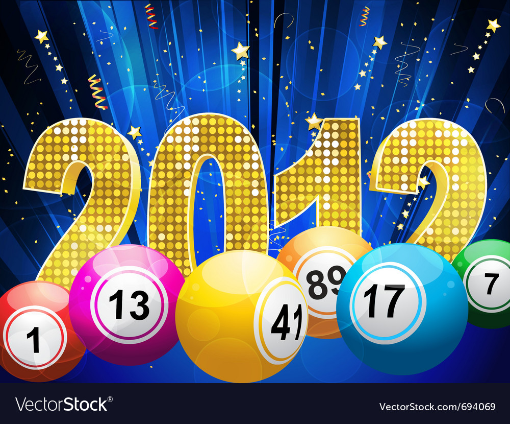 Bingo or lottery balls vector | Price: 1 Credit (USD $1)