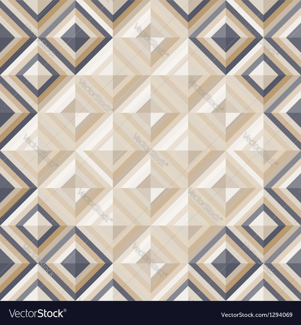 Fashion geometrical pattern with diamonds vector | Price: 1 Credit (USD $1)