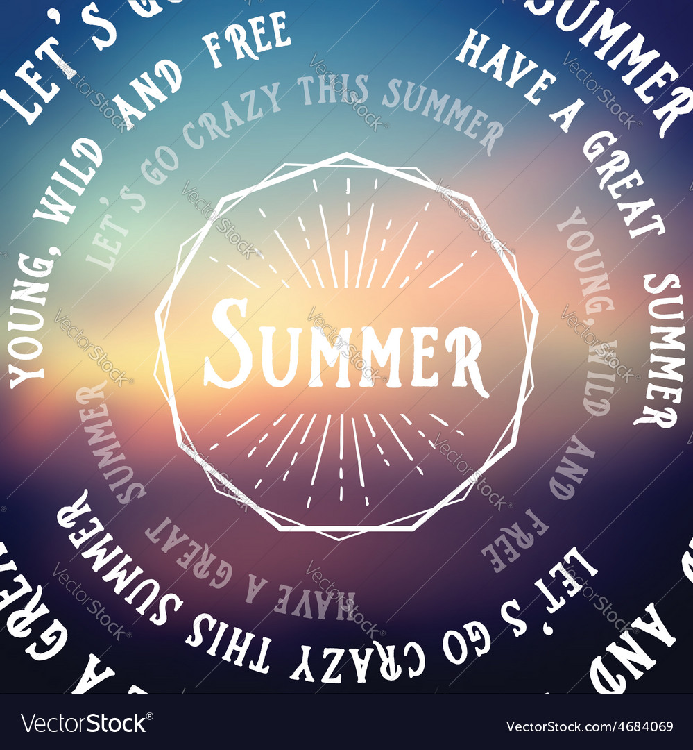 Summer futuristic background abstract banner vector | Price: 1 Credit (USD $1)