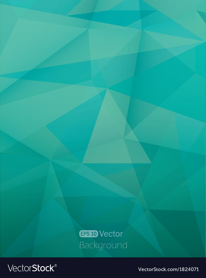 Abstract triangle background vector | Price: 1 Credit (USD $1)
