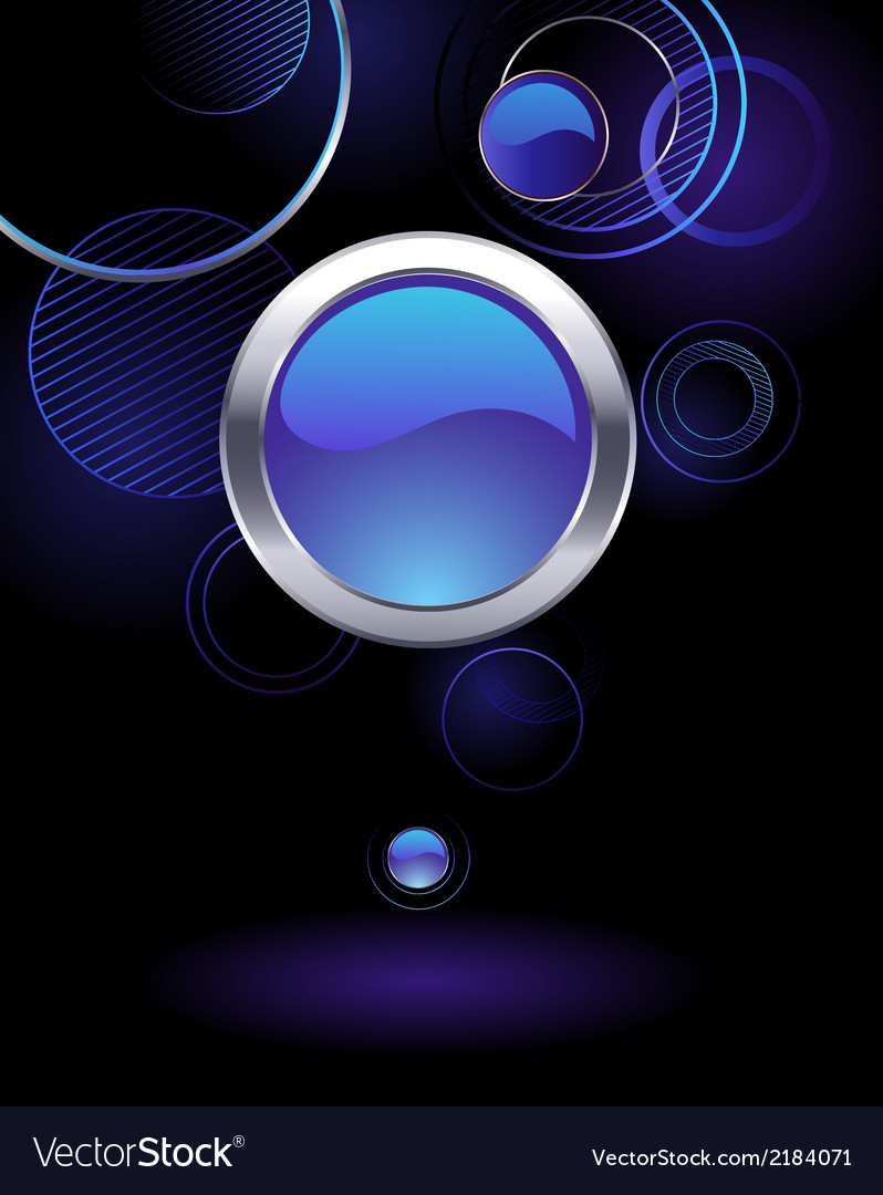 Background with abstract circles vector | Price: 1 Credit (USD $1)