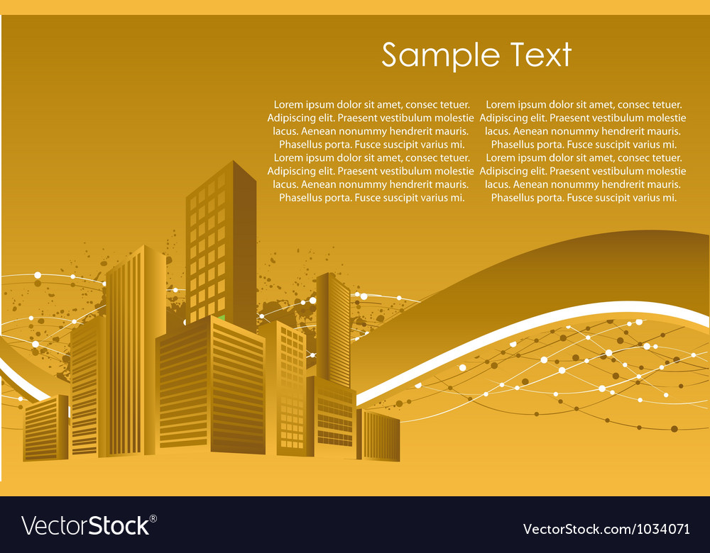 City building structure vector | Price: 1 Credit (USD $1)