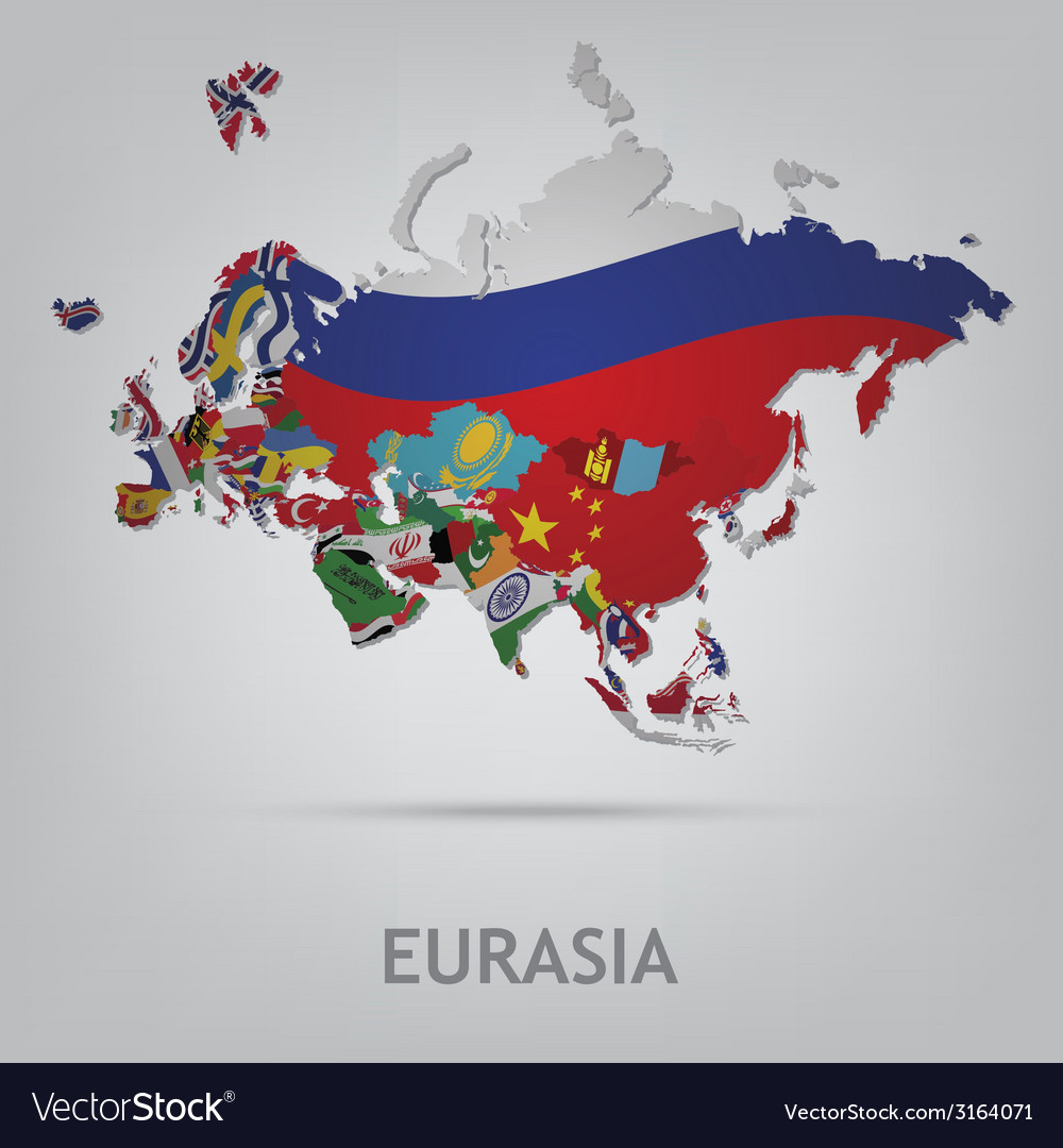 Eurasia vector | Price: 1 Credit (USD $1)