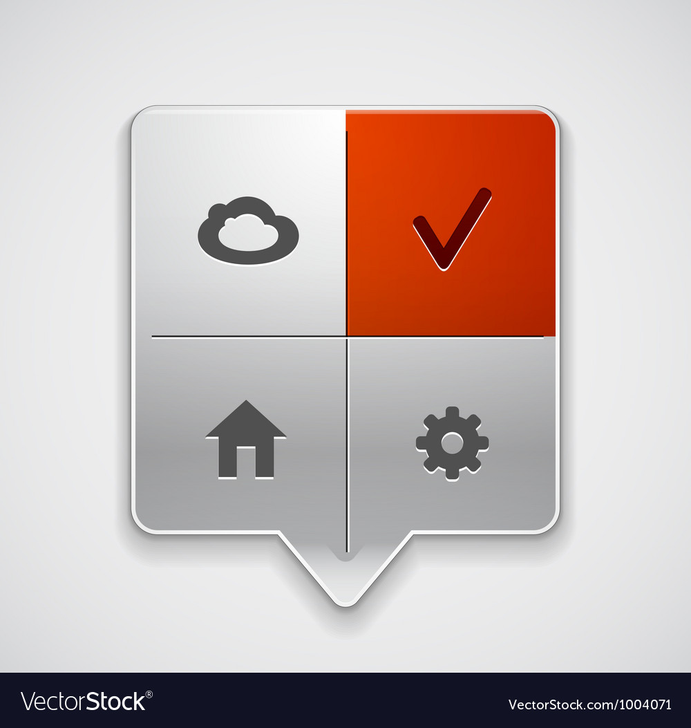 Location buttons vector | Price: 3 Credit (USD $3)