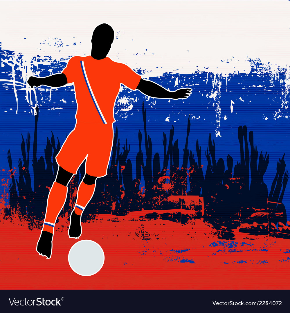 Football russia vector | Price: 1 Credit (USD $1)