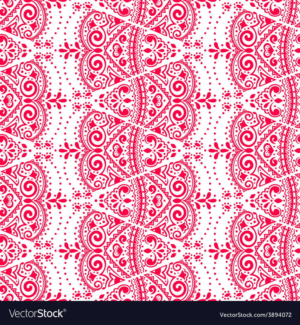 Lace seamless ornament vector | Price: 1 Credit (USD $1)