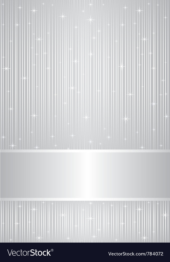 Silver background with sparkles vector | Price: 1 Credit (USD $1)