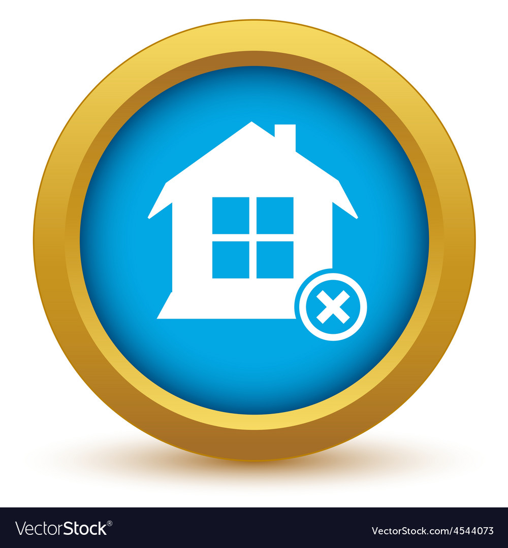 Remove house icon vector | Price: 1 Credit (USD $1)