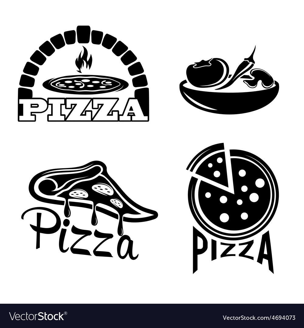 Set for pizzeria or italian restaurant vector | Price: 1 Credit (USD $1)