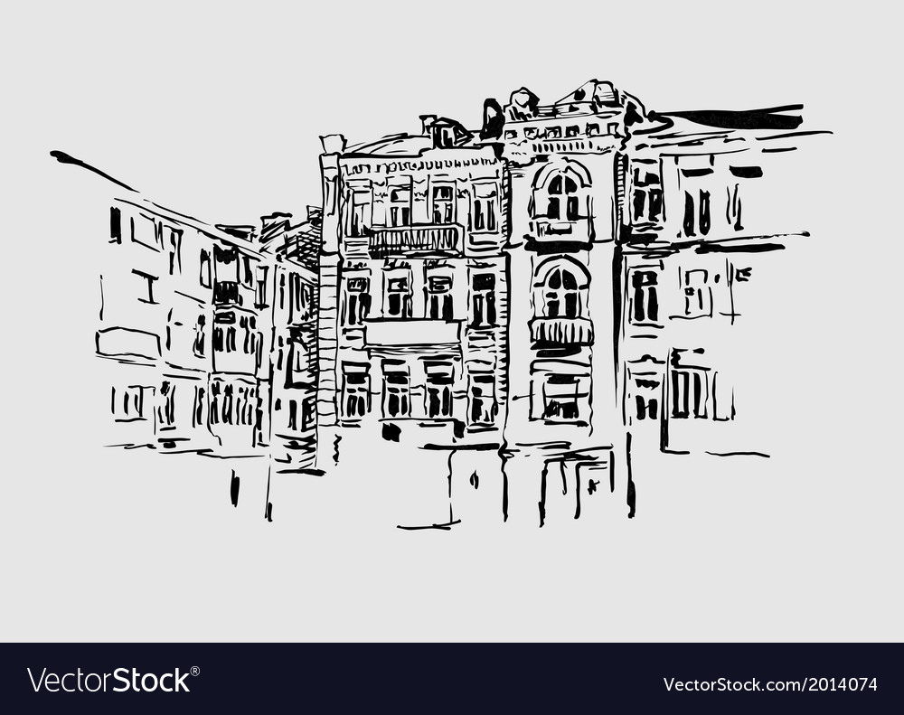 Kiev historical building vector | Price: 1 Credit (USD $1)