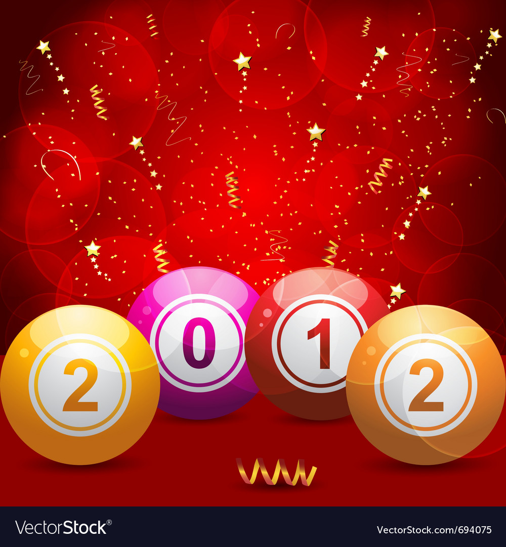 2012 bingo lottery vector | Price: 1 Credit (USD $1)