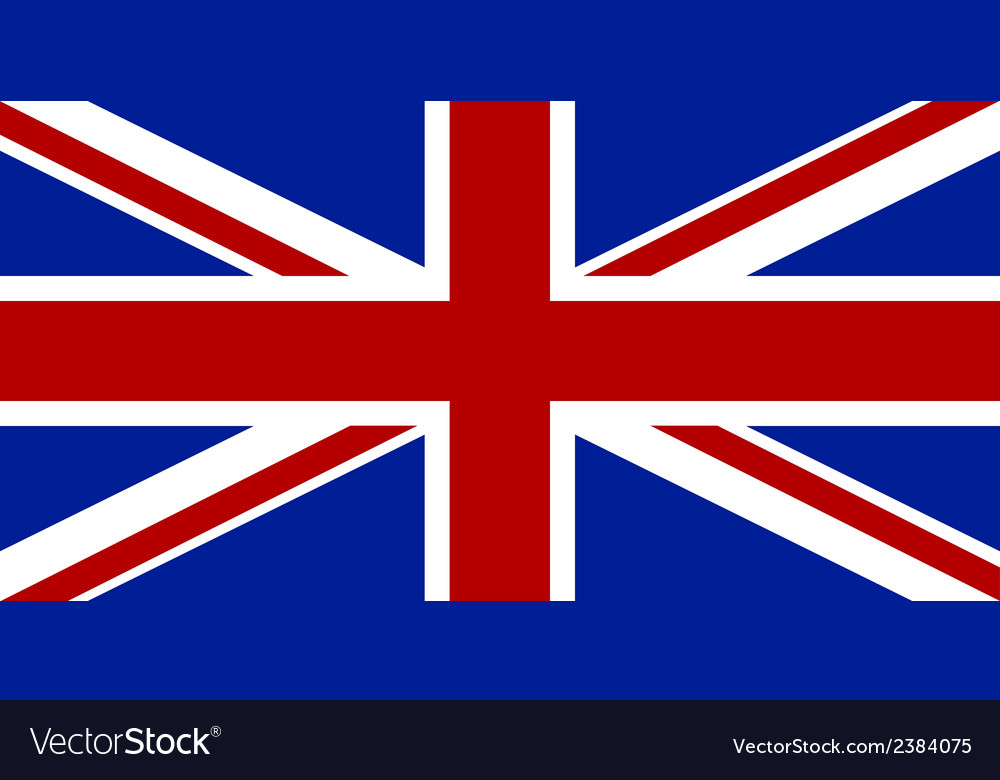 Flag of the united kingdom vector | Price: 1 Credit (USD $1)