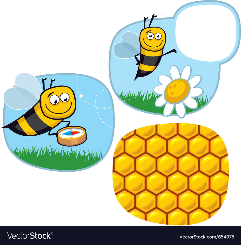 Honeybee vector | Price: 1 Credit (USD $1)
