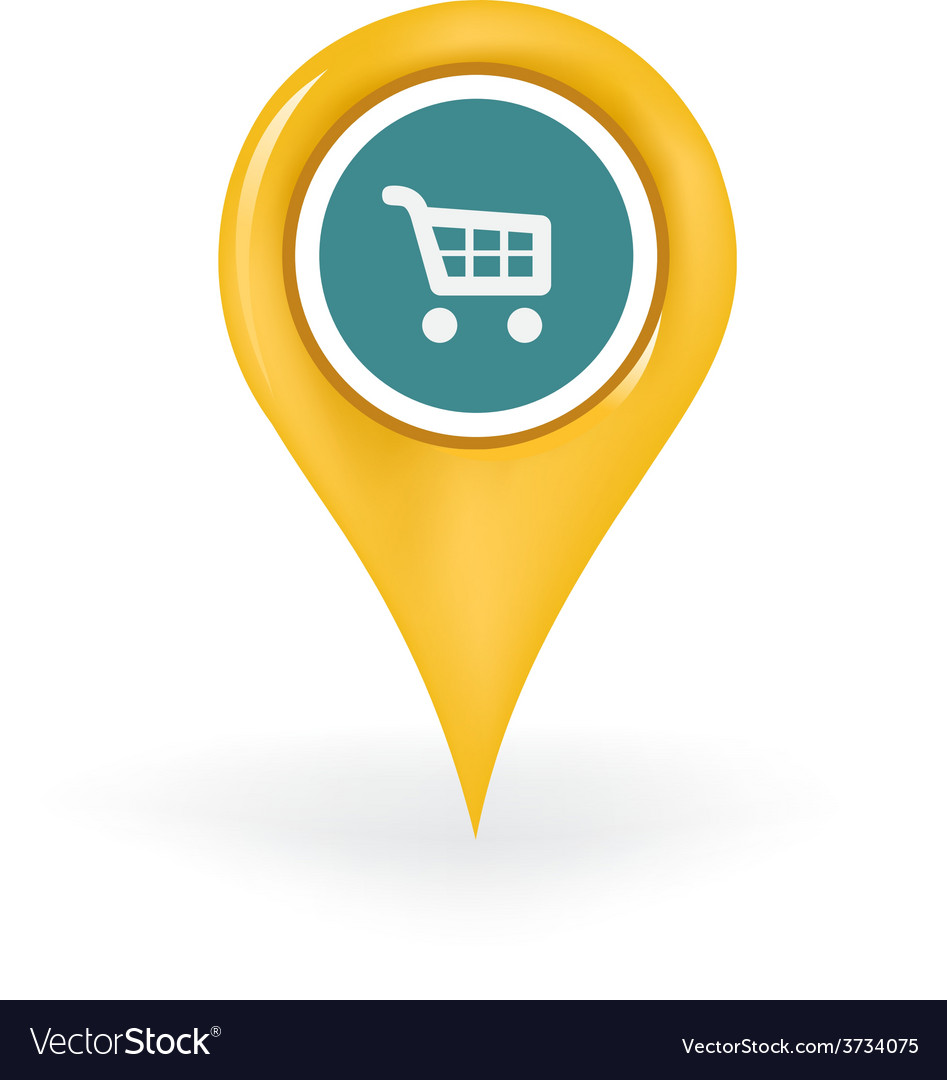Shopping location vector | Price: 1 Credit (USD $1)