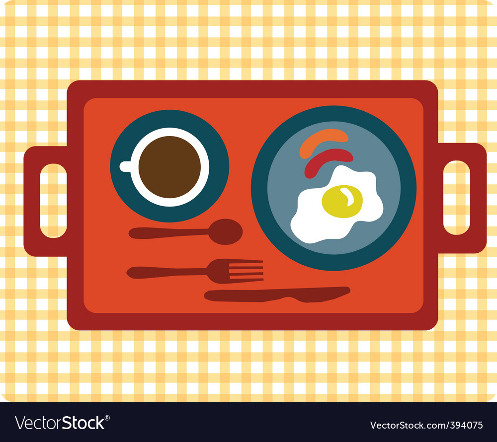 Simple breakfast vector | Price: 1 Credit (USD $1)