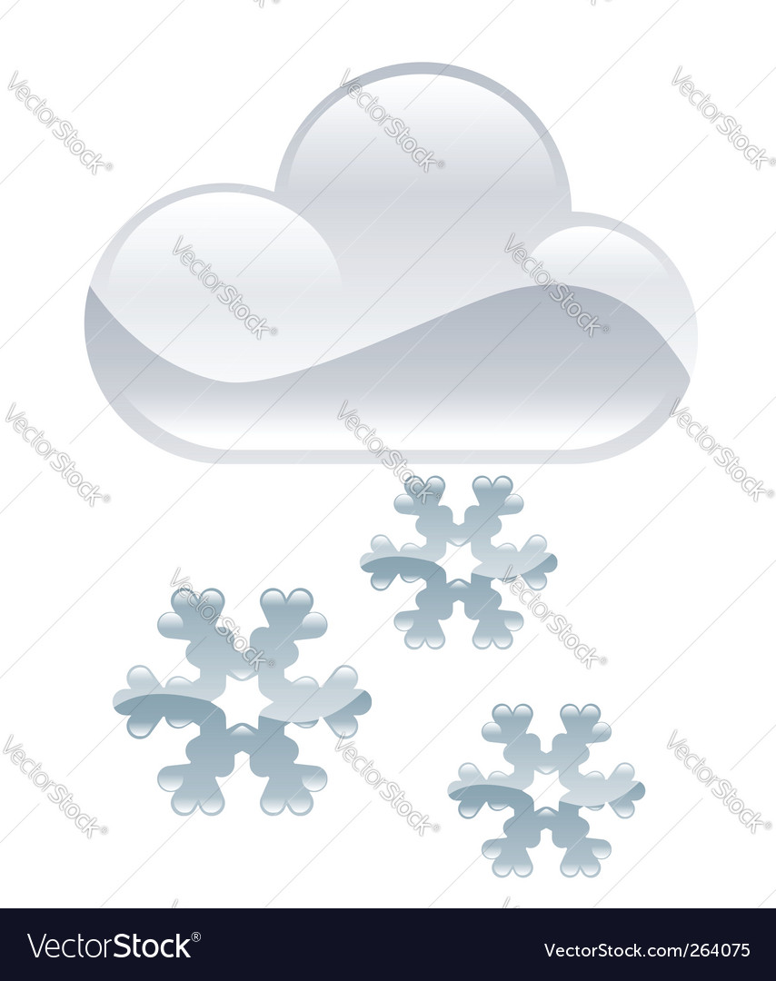 Snow illustration vector | Price: 1 Credit (USD $1)