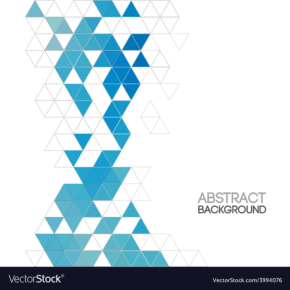 Abstract retro geometric background template vector   Price: 1 Credit (USD $1)