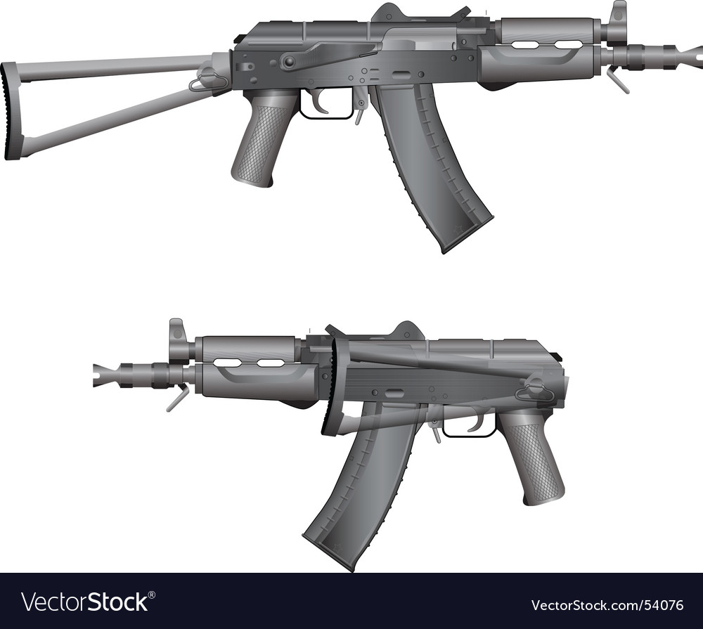 Aks 74u vector | Price: 1 Credit (USD $1)