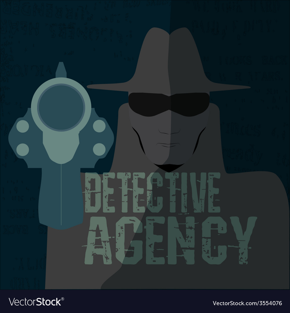 Detective agency vector | Price: 1 Credit (USD $1)