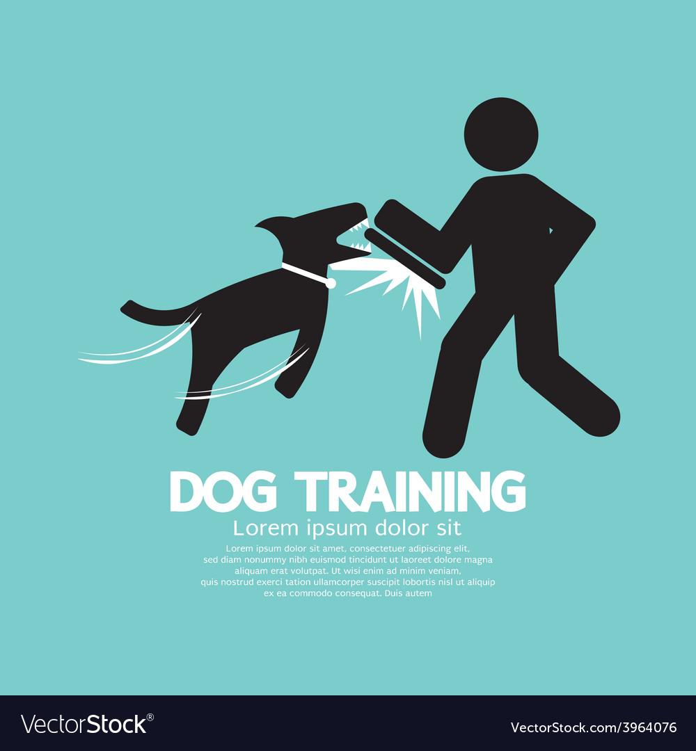 Dog training graphic symbol vector   Price: 1 Credit (USD $1)