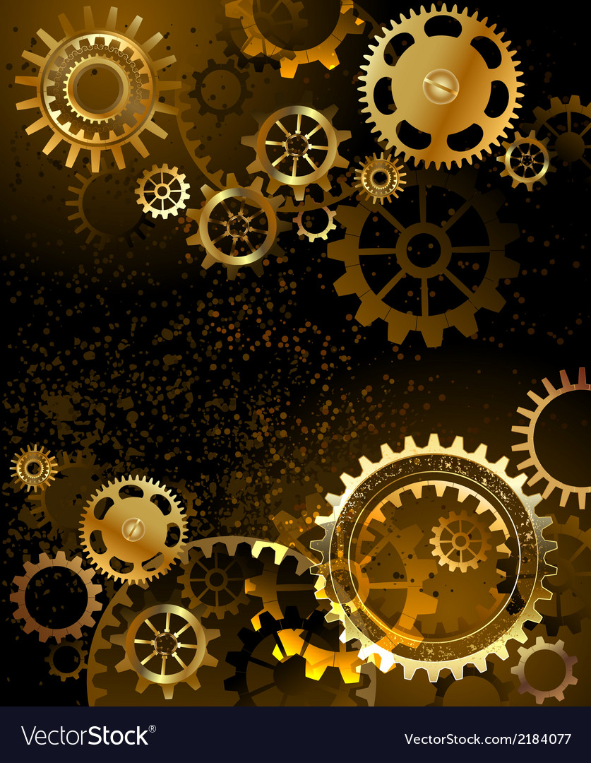 Background with gear vector | Price: 1 Credit (USD $1)