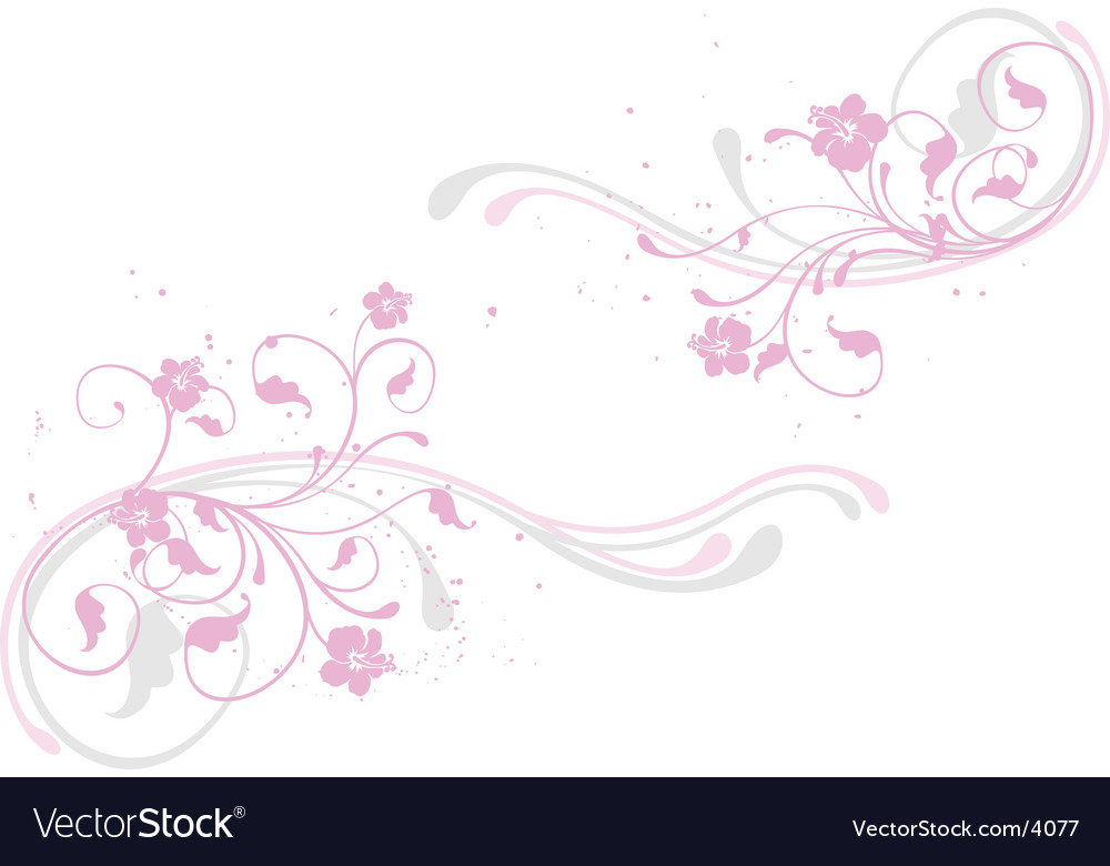 Floral decoration vector | Price: 1 Credit (USD $1)