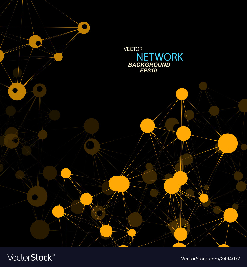 Network connection and dna eps 10 vector | Price: 1 Credit (USD $1)
