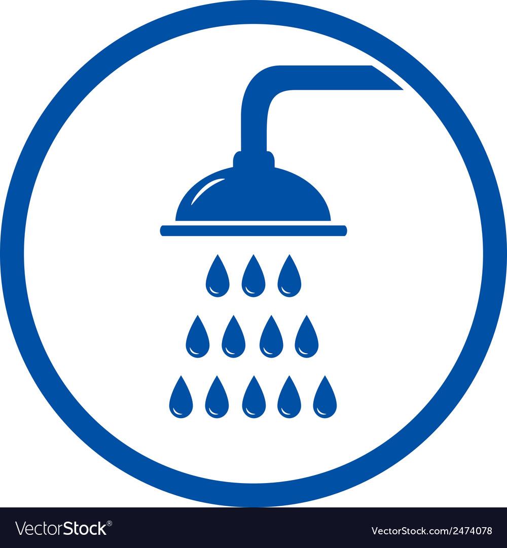 Shower head icon vector | Price: 1 Credit (USD $1)