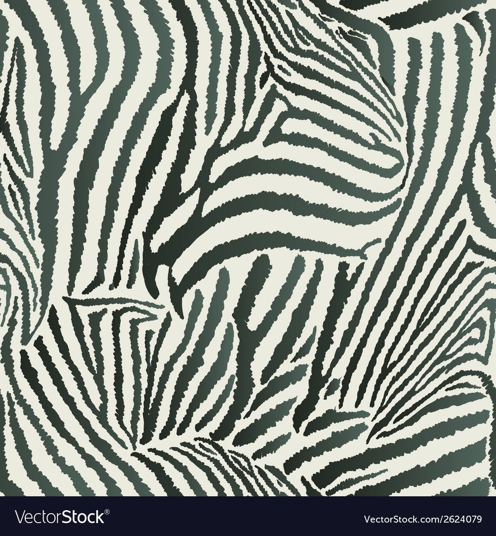 Animal zebra seamless background vector | Price: 1 Credit (USD $1)