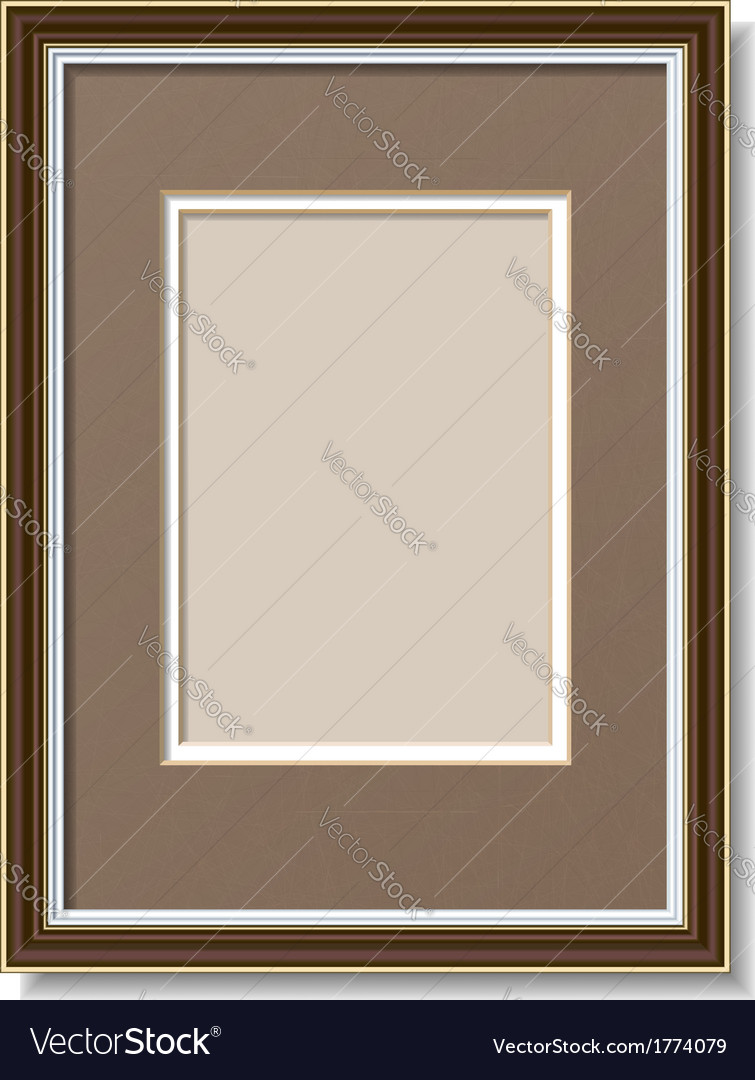 Frame with mount vector | Price: 1 Credit (USD $1)