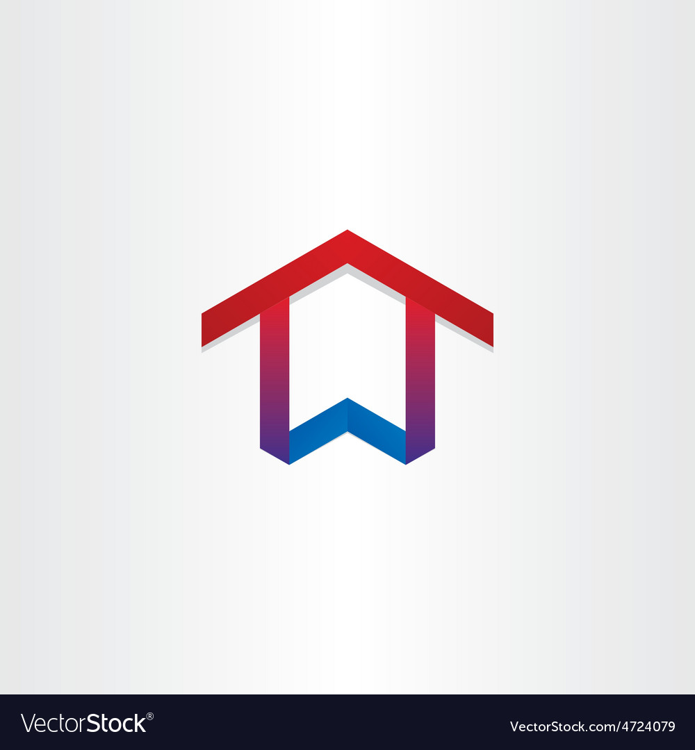 House home real estate icon vector | Price: 1 Credit (USD $1)