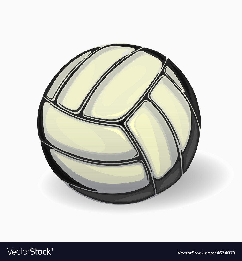 Image of a volleyball ball vector | Price: 3 Credit (USD $3)
