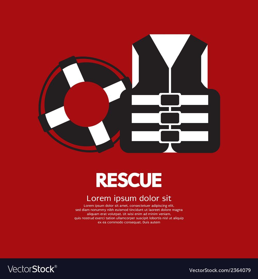 Rescue item vector | Price: 1 Credit (USD $1)
