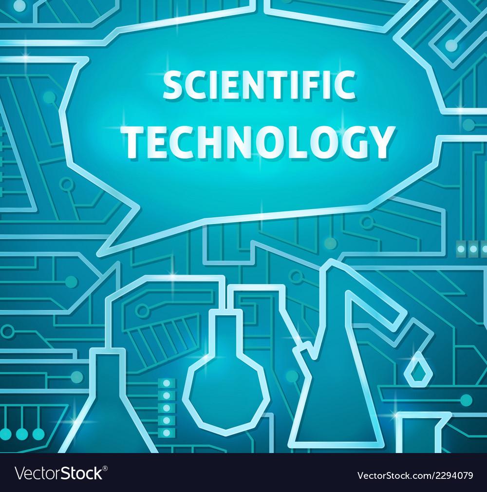 Scientific background vector | Price: 1 Credit (USD $1)