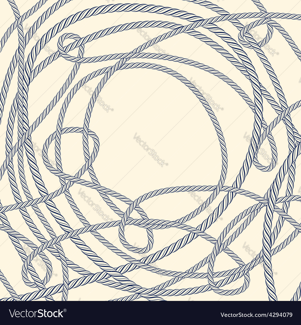 Tangled rope background vector | Price: 1 Credit (USD $1)