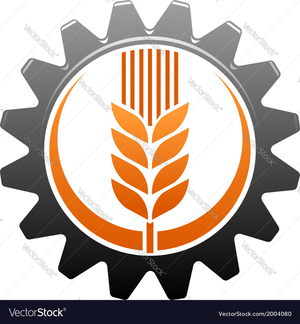 Agriculture and industry icon vector | Price: 1 Credit (USD $1)