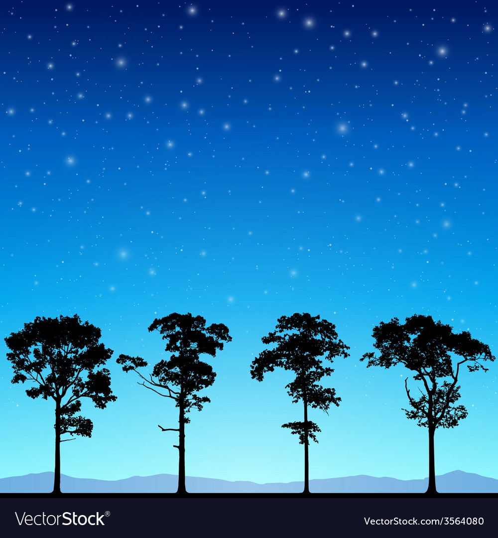 Line of trees vector   Price: 1 Credit (USD $1)