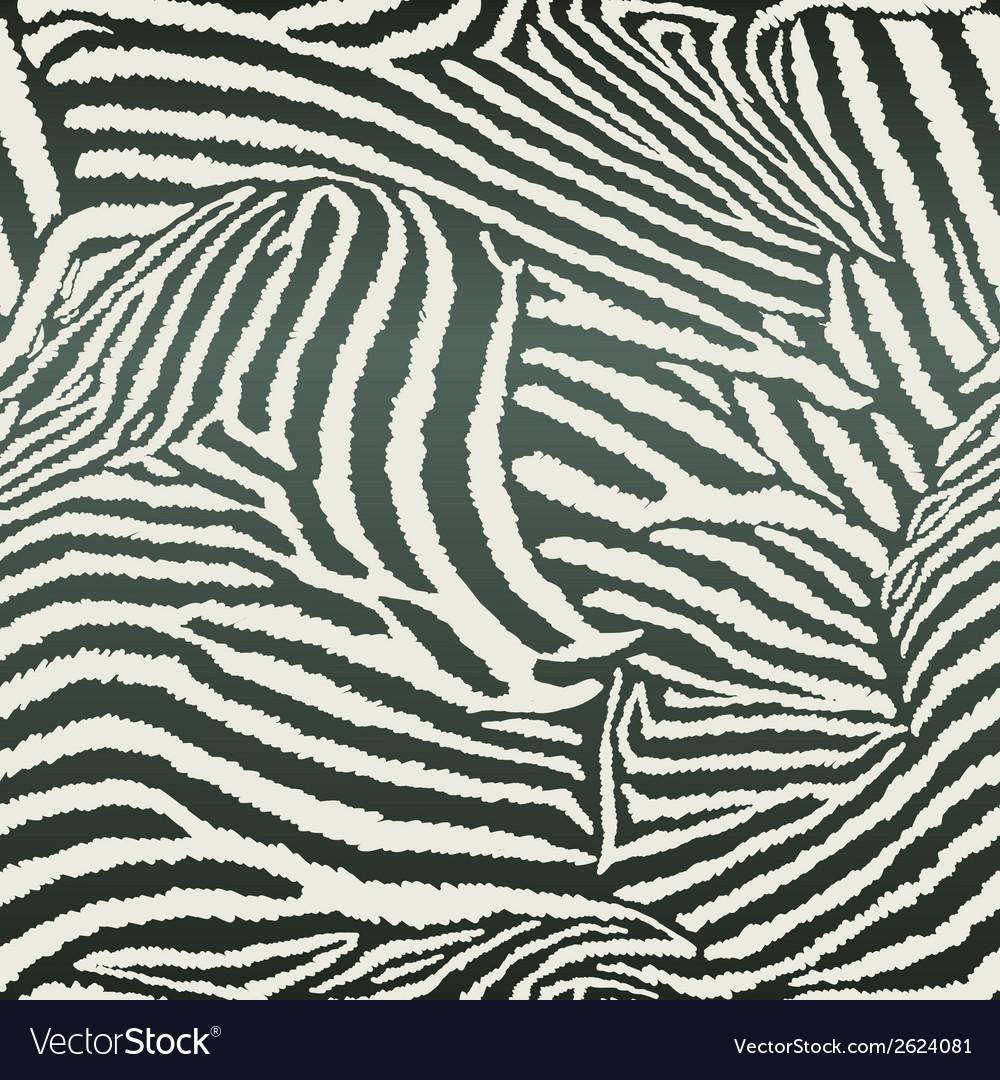 Animal zebra seamless background vector | Price: 1 Credit (USD $1)