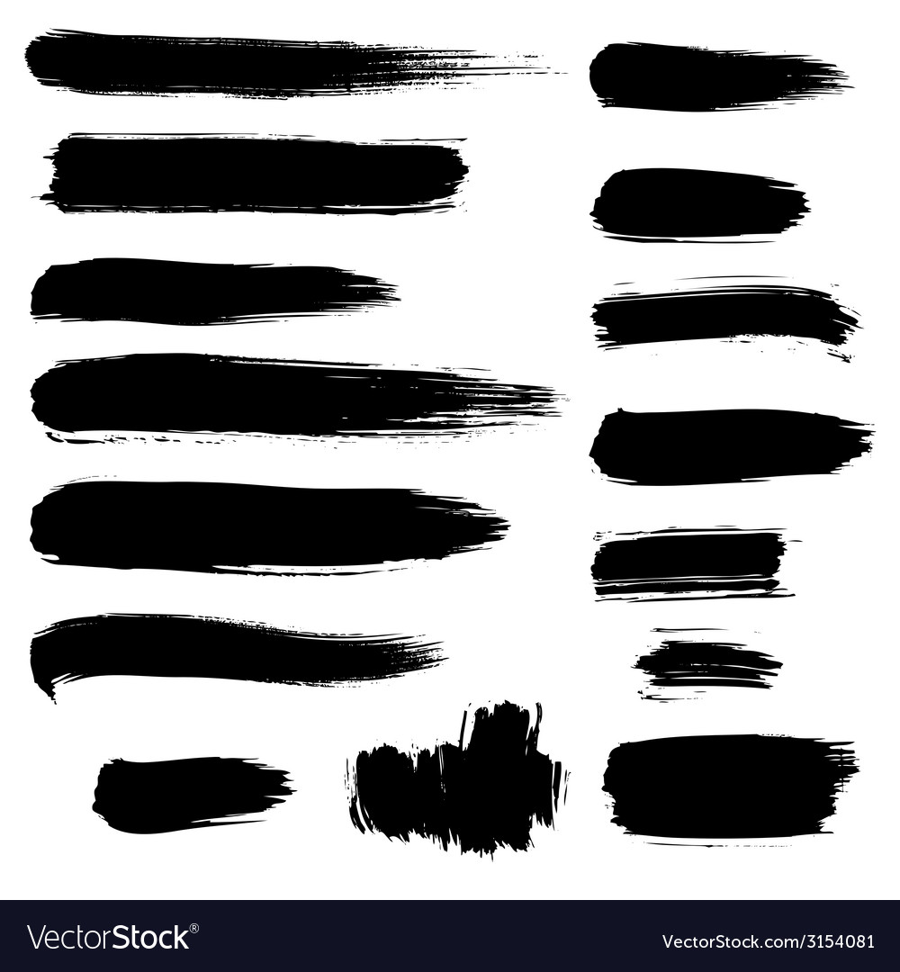 Brush stroke vector | Price: 1 Credit (USD $1)