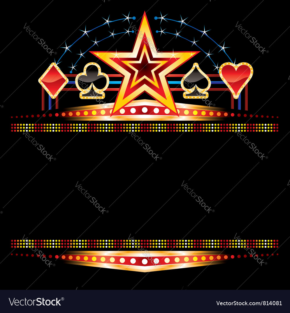 Casino neon vector | Price: 3 Credit (USD $3)