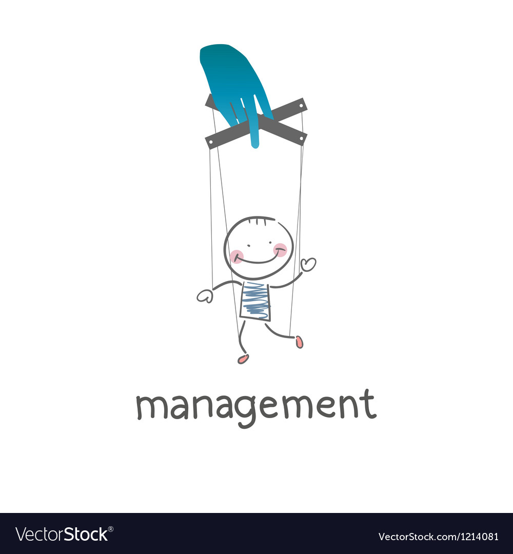 Management vector | Price: 1 Credit (USD $1)