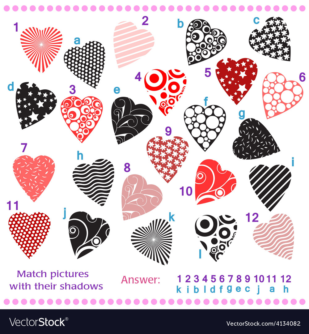 Find the shadows of pictures vector | Price: 1 Credit (USD $1)