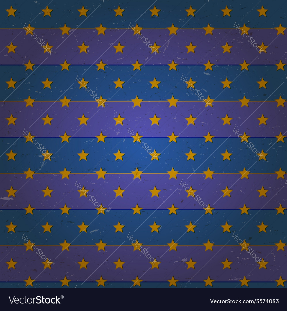 Aged seamless pattern with stars vector | Price: 1 Credit (USD $1)