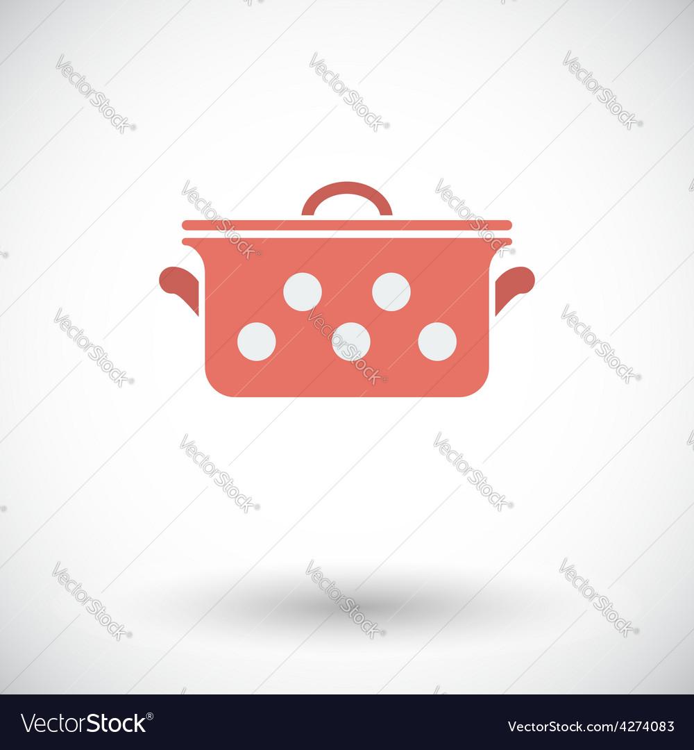 Pan icon vector | Price: 1 Credit (USD $1)