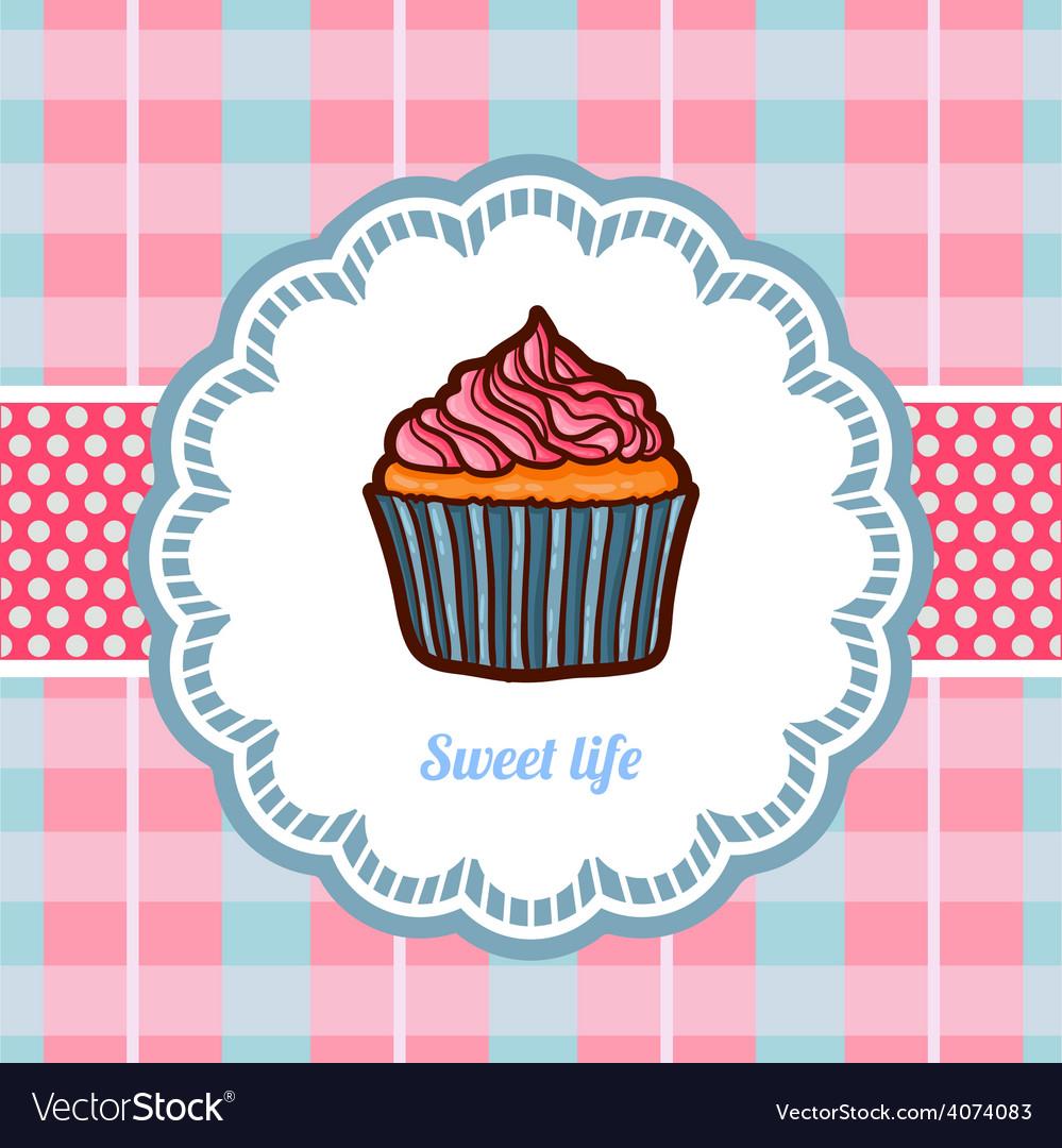 Tasty cake vector | Price: 1 Credit (USD $1)